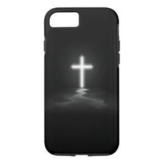 Coque iPhone 7 croix de chrétien de cas de l'iPhone 7