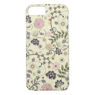 Coque iPhone 7 Cru chic minable de fleur