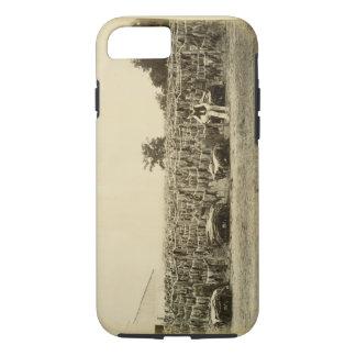 Coque iPhone 7 Cuir de séchage, Argentine (albumen sur la carte)
