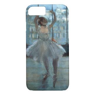 Coque iPhone 7 Danseur d'Edgar Degas | devant une fenêtre