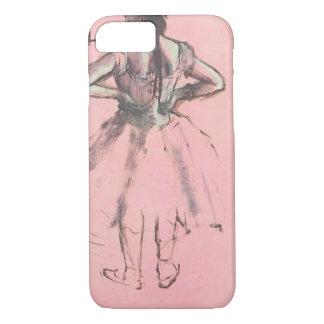 Coque iPhone 7 Danseur du dos par ballet de cru d'Edgar Degas