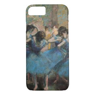 Coque iPhone 7 Danseurs dans le bleu