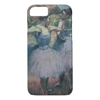 Coque iPhone 7 Danseurs d'Edgar Degas   dans la violette
