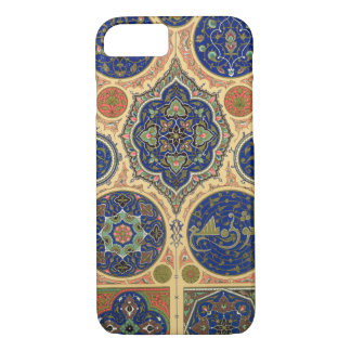 Coque iPhone 7 Décoration Arabe, plat XXVII 'd'O polychrome