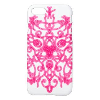 Coque iPhone 7 Dentelle rose