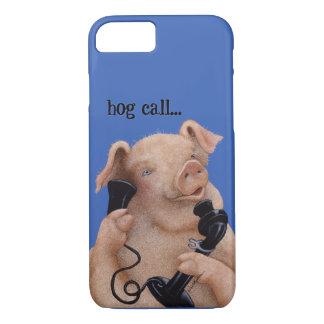 """Coque iPhone 7 Des Bullas téléphonent la couverture """"appel de"""