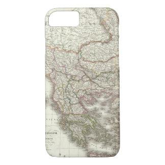 Coque iPhone 7 d'Europe de Turquie, Grece - la Turquie et la