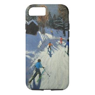 Coque iPhone 7 Deux huttes Pleney Morzine de montagne