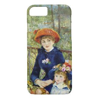 Coque iPhone 7 Deux soeurs (sur la terrasse) par Pierre Renoir
