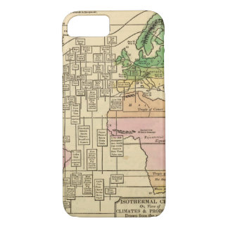 Coque iPhone 7 Diagramme isotherme, productions