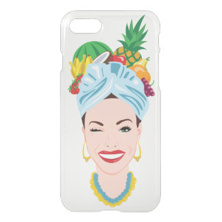 Coque iPhone 7 Diva tropicale