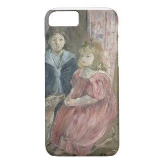 Coque iPhone 7 Double portrait de Charley et de Jeannie Thomas,
