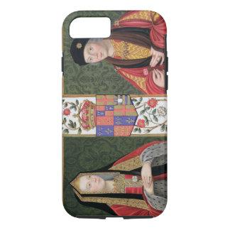 Coque iPhone 7 Double portrait d'Elizabeth de York (1465-1503) a