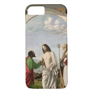 Coque iPhone 7 Douter de Thomas avec St Magnus, c.1504-05