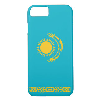 Coque iPhone 7 Drapeau de Kazakhstan
