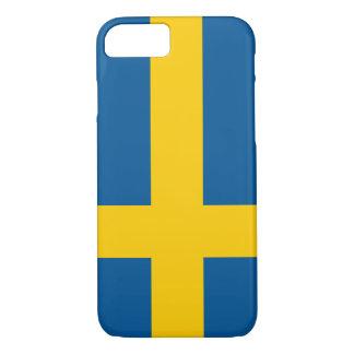 Coque iPhone 7 Drapeau de la Suède