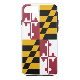 Coque iPhone 7 Drapeau d'état du Maryland