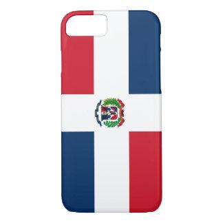 Coque iPhone 7 Drapeau dominicain