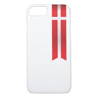 Coque iPhone 7 Drapeau du Danemark, cas danois de téléphone de