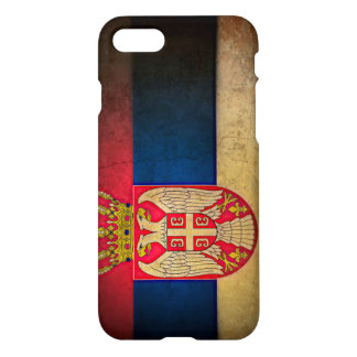 Coque iPhone 7 Drapeau serbe