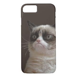 Coque iPhone 7 Éclat grincheux de chat