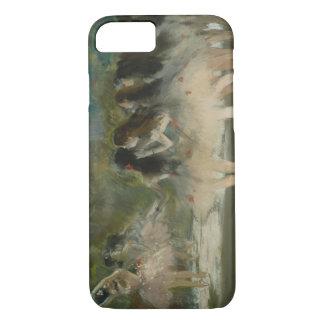 Coque iPhone 7 Edgar Degas - ballet à l'opéra de Paris
