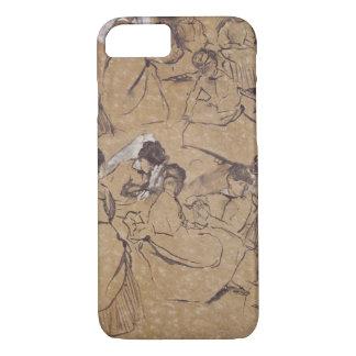 Coque iPhone 7 Edgar Degas | douze études des femmes dans le