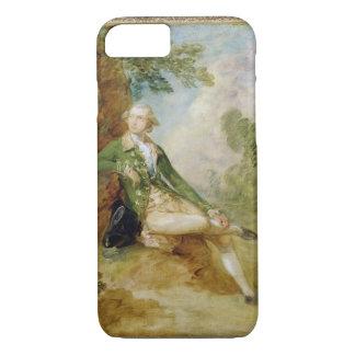 Coque iPhone 7 Edouard Augustus, duc de Kent, c.1787 (huile sur