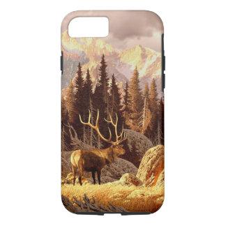 Coque iPhone 7 Élans Taureau