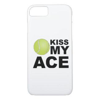 Coque iPhone 7 Embrassez mon as ! Cas de l'iPhone 7 de tennis