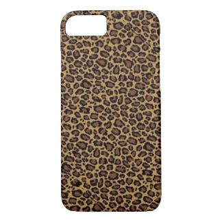 Coque iPhone 7 Empreinte de léopard