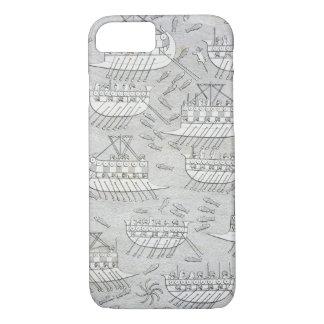 Coque iPhone 7 Ennemis des Assyriens prenant le refuge dans des