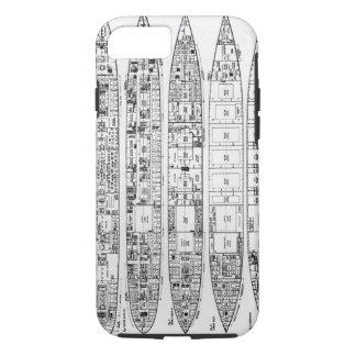 Coque iPhone 7 Enquête dans la perte de Titanic : Sections