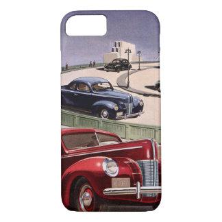 Coque iPhone 7 Entraînement de voitures classique vintage de