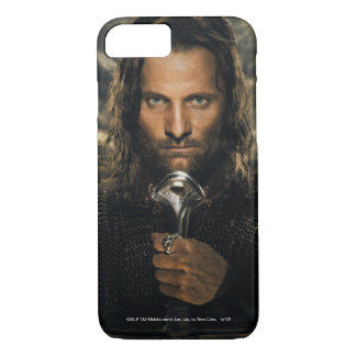Coque iPhone 7 Épée d'Aragorn vers le bas
