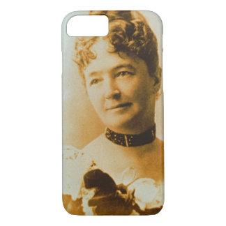 Coque iPhone 7 Épouses de Custer de lard d'Elizabeth 1842-1933)