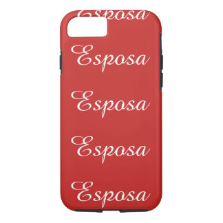 Coque iPhone 7 Esposa (épouse)