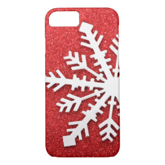 Coque iPhone 7 Étincelles rouges de Noël
