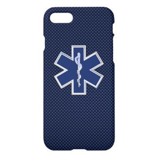 Coque iPhone 7 Étoile des services médicaux de secours