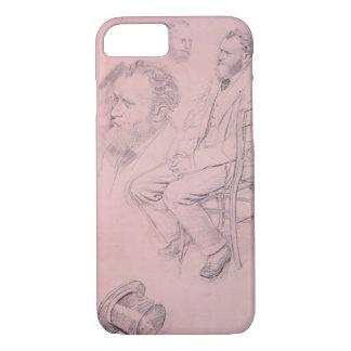 Coque iPhone 7 Étude d'Edgar Degas | pour le portrait d'Edouard