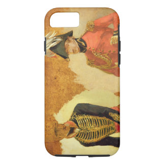 Coque iPhone 7 Études d'uniforme royal d'artillerie de cheval, et