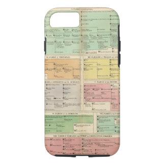 Coque iPhone 7 Événements d'empire romain de chronologie