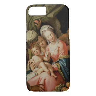 Coque iPhone 7 Famille sainte avec St Anne