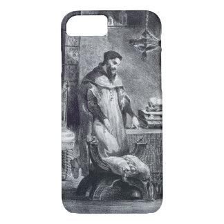 Coque iPhone 7 Faust dans son étude, de Faust de Goethe, 1828,