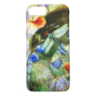 Coque iPhone 7 Fée de libellule