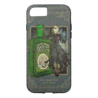 Coque iPhone 7 Fée gothique d'absinthe - La Fée Verte