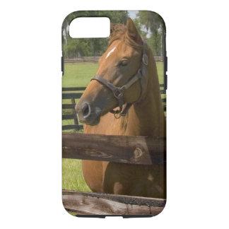 Coque iPhone 7 Ferme de cheval de pur sang dans le comté de