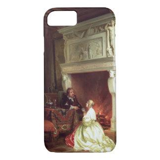 Coque iPhone 7 Figures dans un intérieur (huile sur le panneau)