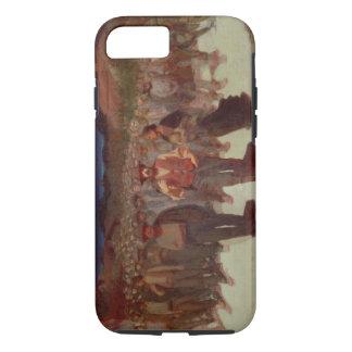 Coque iPhone 7 Fiumana (la marée humaine) 1895-96 (huile sur la