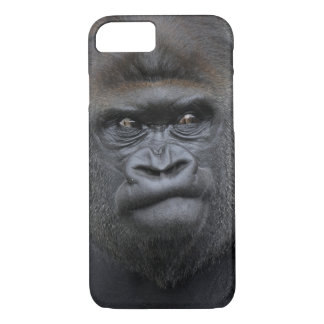 Coque iPhone 7 Flachlandgorilla, gorille de gorille,